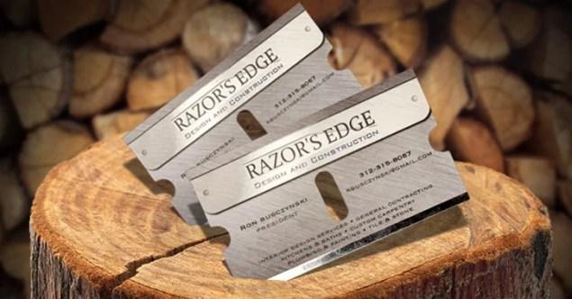 razor business cards