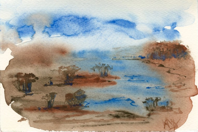 Handmade watercolours
