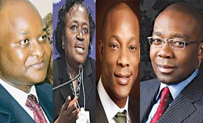 Tunde Lemo;莎拉阿拉德; Segun Agbaje和Aigboje Aig-Imoukhuede