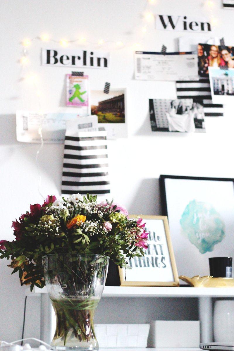 pinterest inspirierter Schreibtisch-vanillaholica-diy