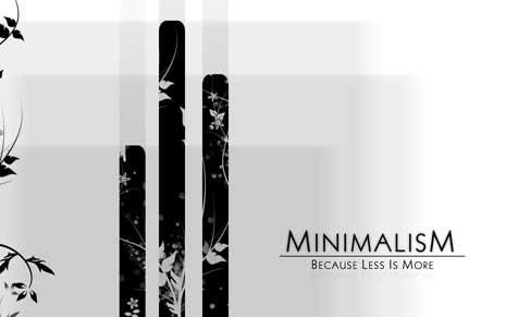minimalism 2 The minimalism challenge