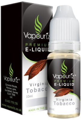 Vapouriz-10ml-Virginia-Tobacco-E-Liquid-0