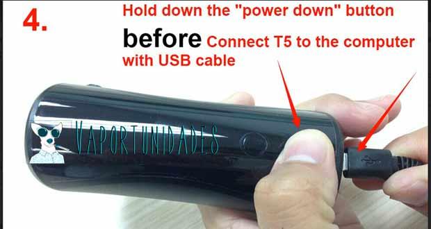Restaurar el Cloupor T5 – Instrucciones detalladas paso a paso.