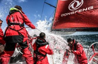Yann Riou / Dongfeng Race Team / Volvo Ocean Race