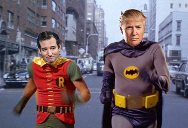 Va Right! Exclusive: Donald Trump REALLY IS Batman And We UNMASK Robin ...