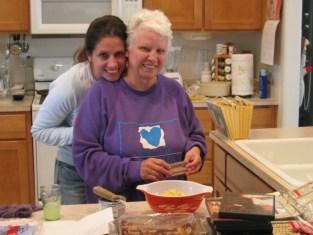 Xmas 2003 - Kim and Mama Tello