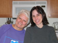 Xmas 2003 - Mama Tello & Steph