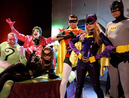 BATMAN XXX HEROES