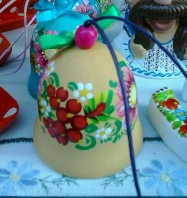Колокольчик керамический купить в интернет магазине недорого