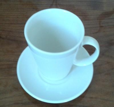 чашка чайная 300 мл на блюдце 13,5 см