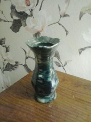 Вазочка цветочек мраморная