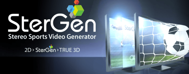 Stergen 3D tv technology