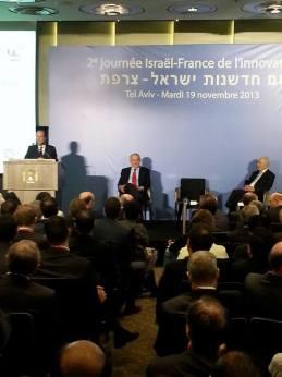 Hollande photo at Innovation Day