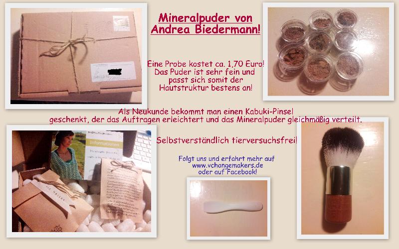Kosmetik-Tipp: Mineralpuder von Andrea Biedermann