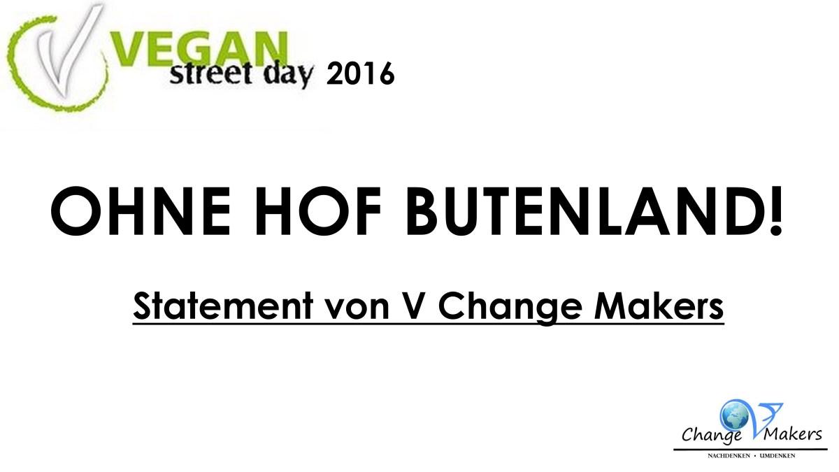 Statement: VSD 2016 ohne Hof Butenland!