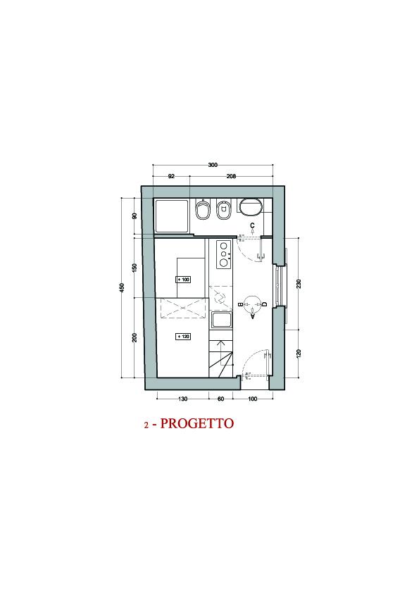 Progetti di case blog arredamento for Progetti mini appartamenti