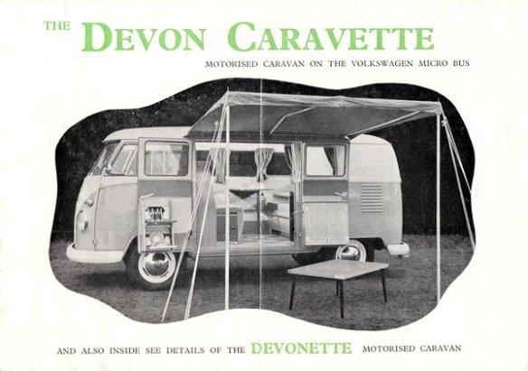 Devon Caravette camping conversion