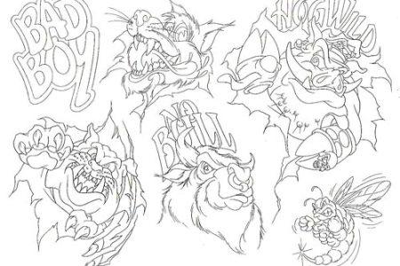 tattoo design template9