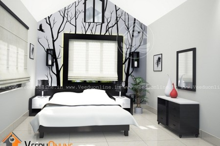 incredible and marvellous kerala home interior bedroom design