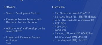 Samsung Windows Developer Preview PC