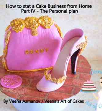 Cake Business from Home 4 - Personal Plan