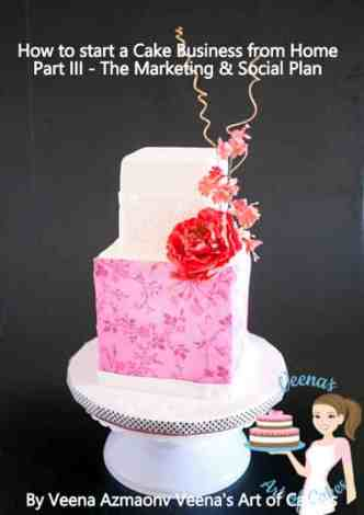 How to start a cake business from home 3 Market Plan is an excellent post that gives you the whole scoop and insight into starting your own cake business. Excellent Article by Veenas Art of Cake