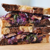 Vegan Vegetable Reuben Sandwich