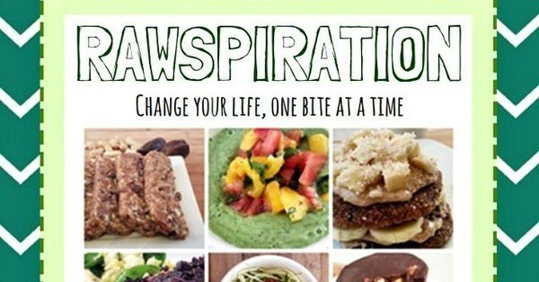 Giveaway Time! Win Rawspiration E-Cookbook by Anne Meinke of The Raw Mama (2 Copies!)