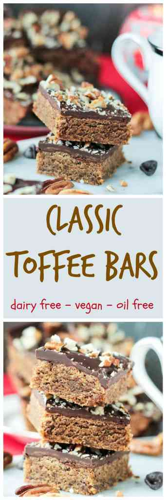Vegan Toffee Bars