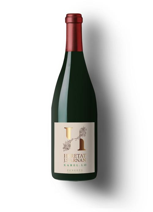 etiqueta para vino Xarelo