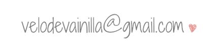 Email de contacto de Velo de Vainilla