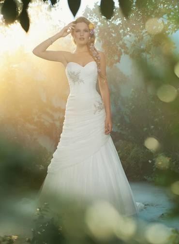 Vestidos de novia Disney - Rapunzel