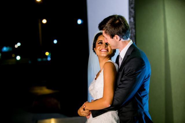 La novia y su sonrisa