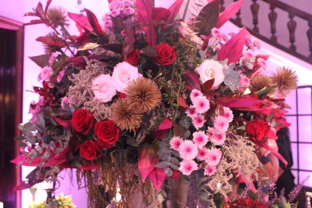 Arreglos de flores estilo boho chic
