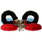 Toy Joy Furry Fun Cuffs - Pink