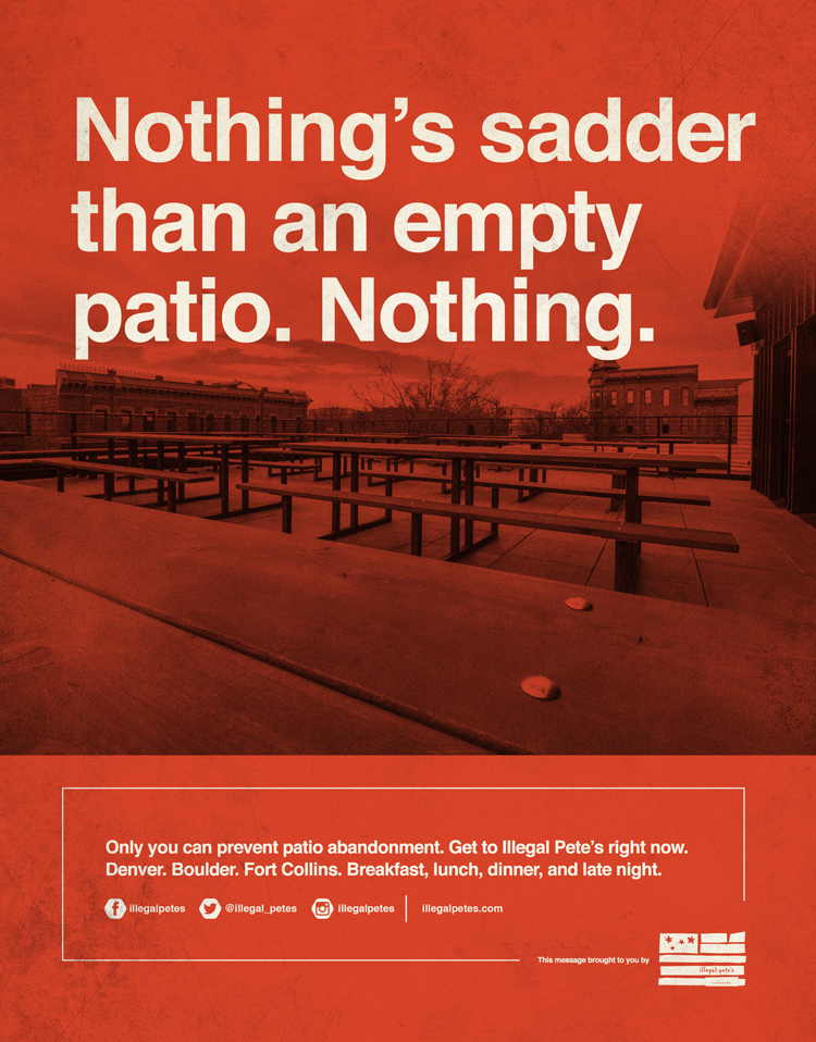 Illegal Petes—Patio