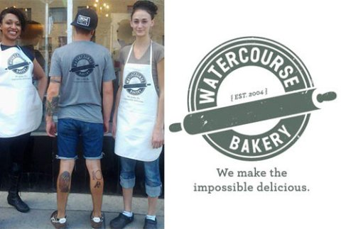 WaterCourse Bakery: Branding