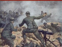 Les soldats italiens en France durant la Grande Guerre
