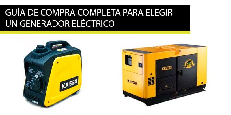 Ejemplos de donde se utilizan los generadores electricos