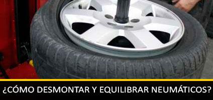 Manual Montaje de Ruedas: Cómo Desmontar, Equilibrar Neumáticos y Llantas de Coches y Motos.