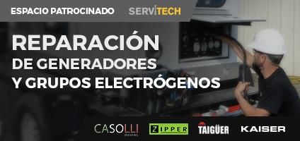 Reparacion de generadores y grupos electrogenos