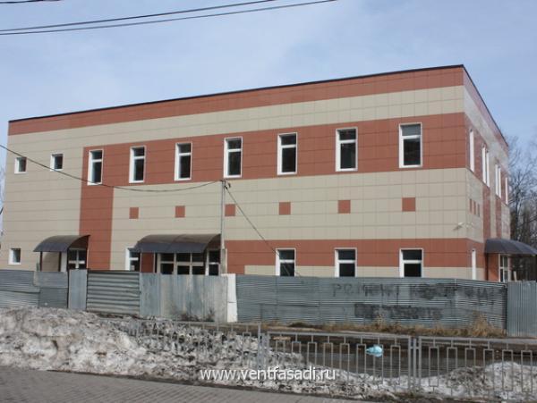 Торгово-офисное здание г.Щербинка, ул.Новостроевская