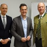 Oberbank Dir Klingan, Tarek Leitner und Dr.Thann