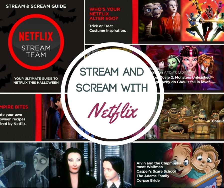 Stream & Scream with Netflix this Halloween