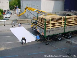 Bildergalerie zur Reportage: Blockade der Verkehrsader Wien - Bratislawa