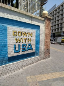 Down with USA Tehran