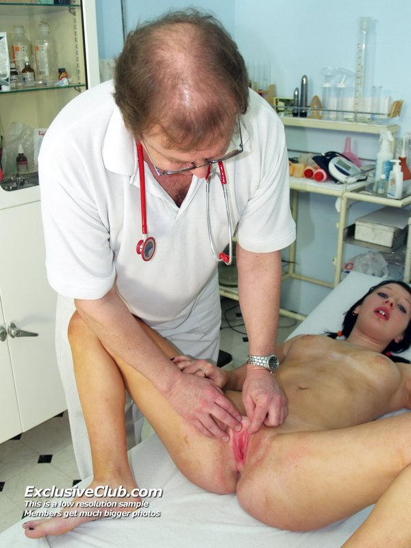 little vagina examined by bf