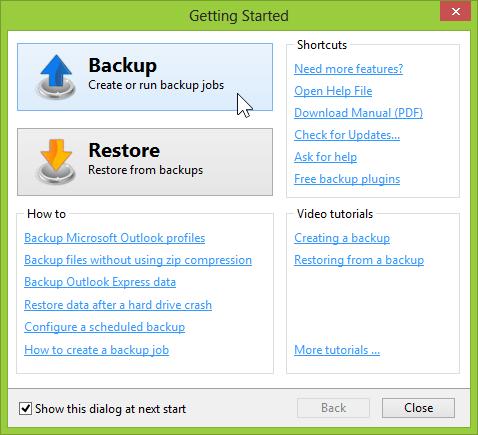 Windows Backup Software