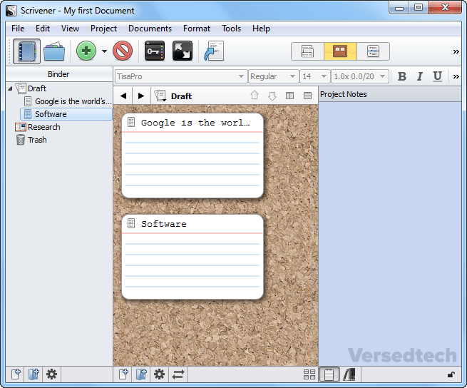 Scrivener - Best Tool for Long Writing Scripts