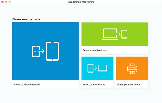 wondershare mobiletrans for mac review